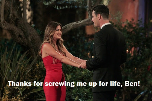 The Bachelorette Week 7 & 8: Love = Get the Eff Out