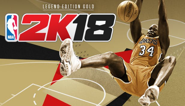 preview nba 2k18 legend edition gold