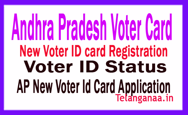 AP New Voter Id Card Application