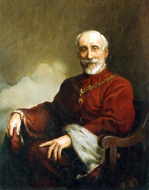 Antonio Luis Gutiérrez Fernández, Retrato de Antonio Maura