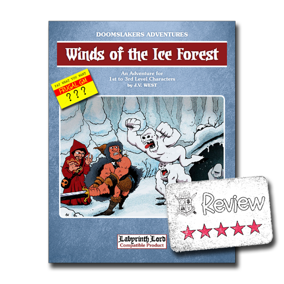 Frugal GM Review: Winds of the Ice Forest