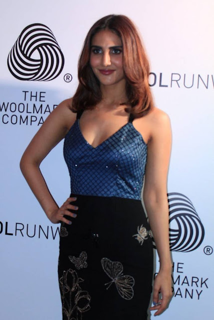 Vaani Kapoor Stills At The Wool Mark Company Rampwalk