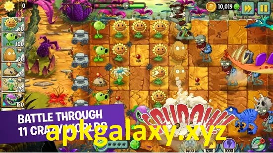 Plants vs. Zombies 2 Free Mod Apk Terbaru
