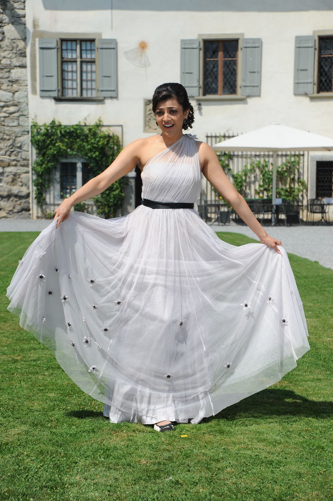 Glamorous Kajal Agarwal Photos In White Dress