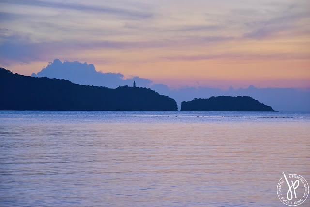 lighthouse, shoreline, sunset, beach
