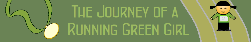 The Journey of a Running Green Girl