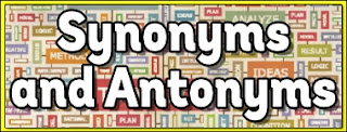 Antonyms and Synonyms for exams