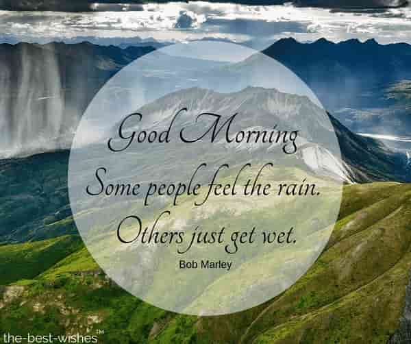 rainy images with quotes by bob marley