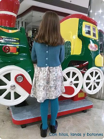 Con hilos, lanas y botones: Vestido JUNCOS