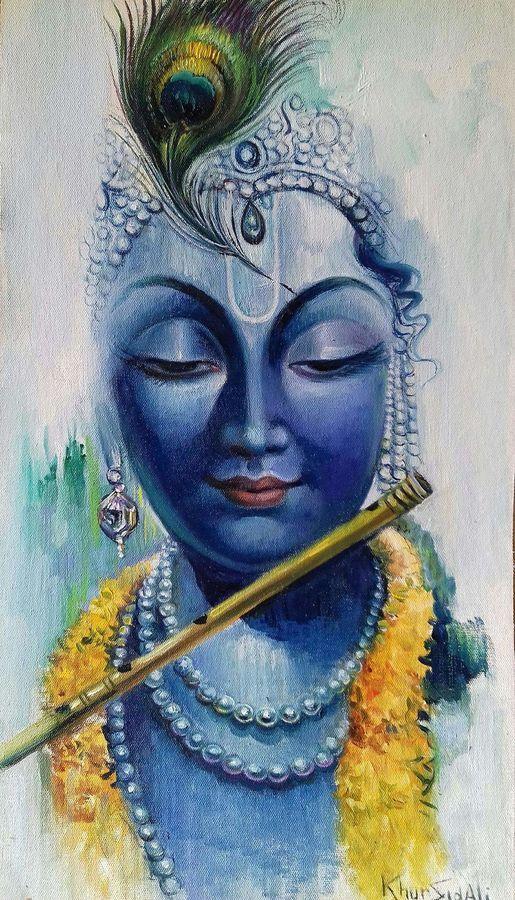 Wallpaper for mobile - Lord Krishna