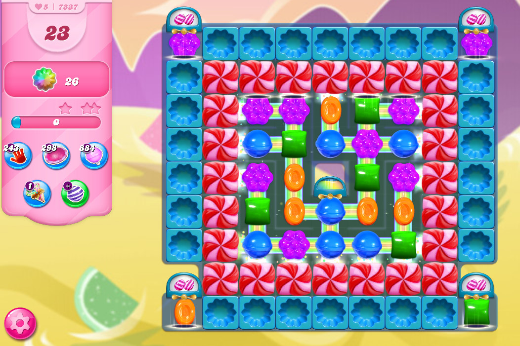 Candy Crush Saga level 7837