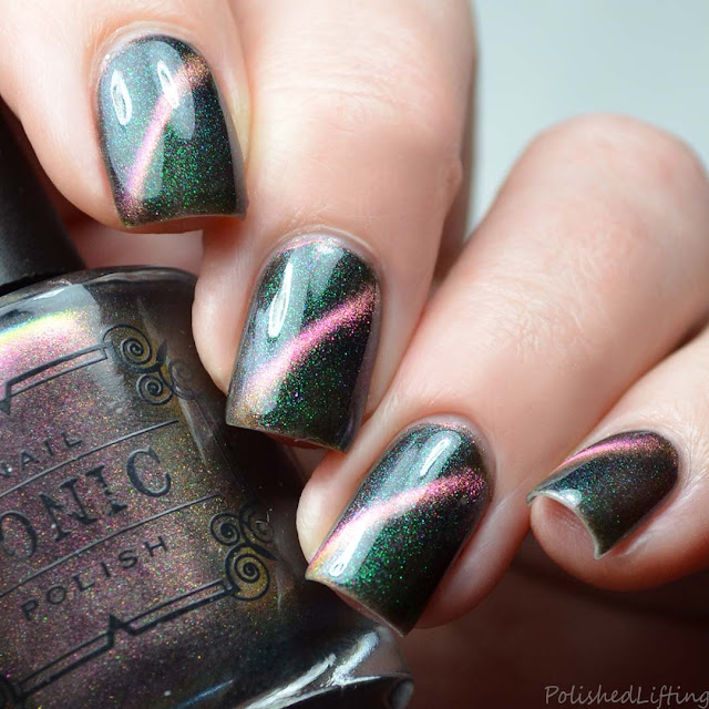 magnetic multi chrome nail polish