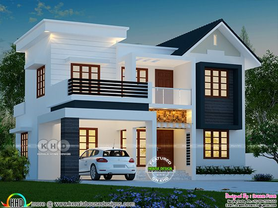4 BHK 1763 square feet modern house plan | Kerala home ...