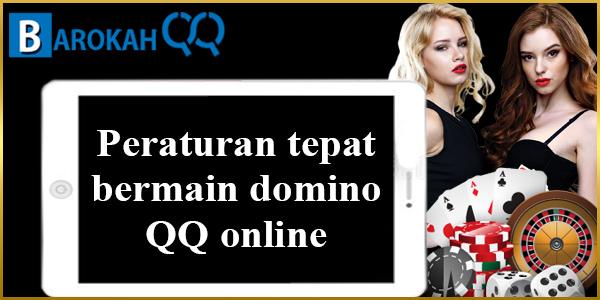 Peraturan tepat bermain domino QQ online