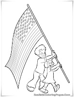 fourth of july coloring sheets