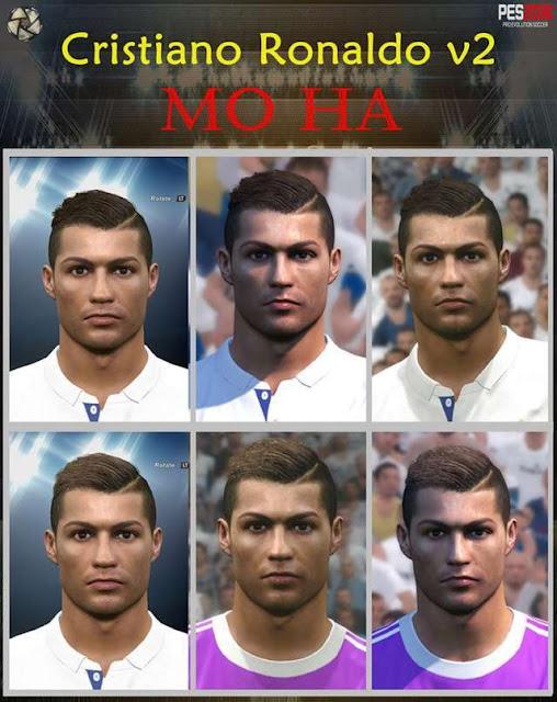 PES 2016 Cristiano Ronaldo New Face 2016