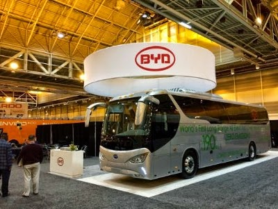 The C9 Battery-Electric Bus. (Credit: BYD) Click to enlarge.