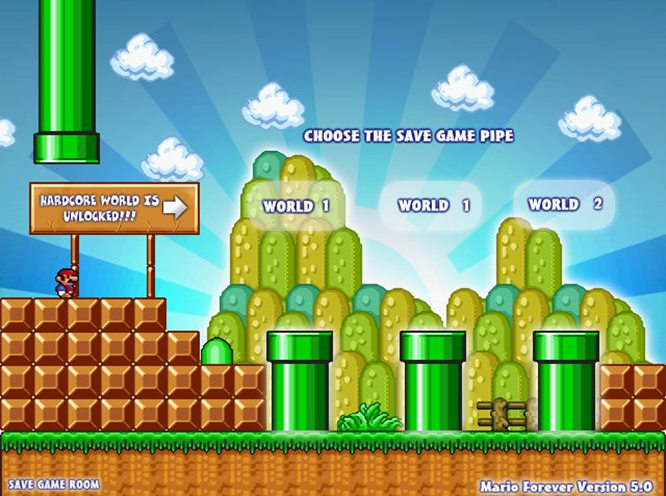free  game mario forever full version
