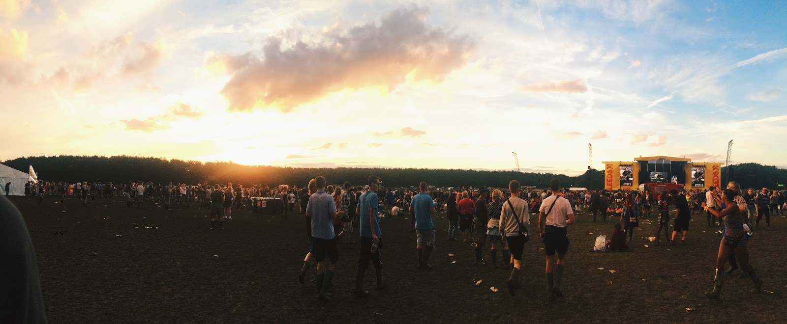 Leeds festival panorama of the arena 2016