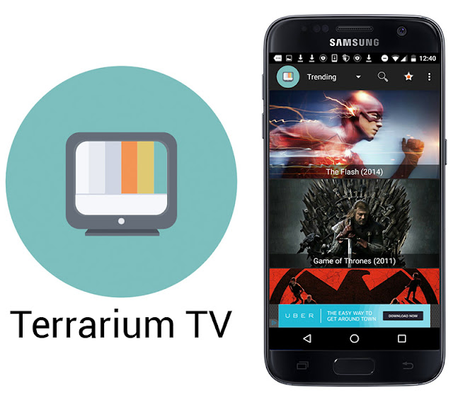 Latest Terrarium TV HD Movies APK For Galaxy S7 Edge / S8 / Note 8