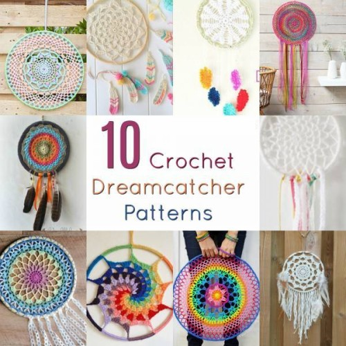 Free Crochet Dreamcatcher Patterns