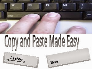 copy and paste made easy