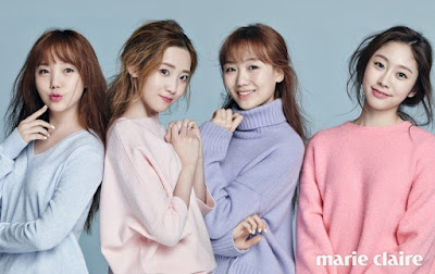 Lovelyz Marie Claire March 2016