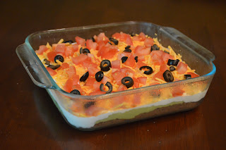 Black Bean Layer Dip