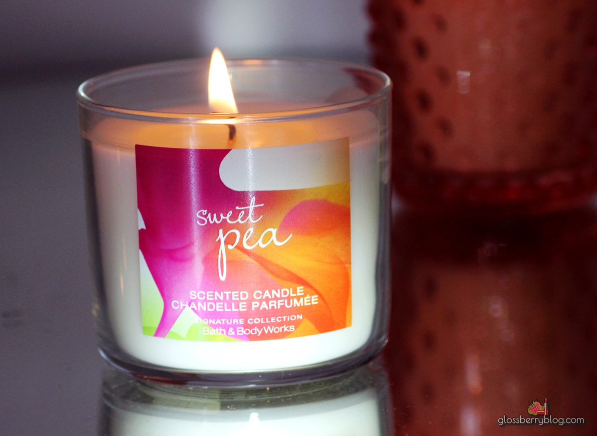 bath and body works island margarita georgia peach sweet pea review נרות דיוטי פרי באת בודי באדי וורקס ריחות הזמנה גלוסברי בלוג איפור וטיפוח