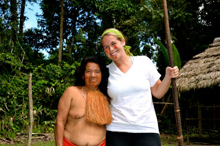 full amazon tribes women