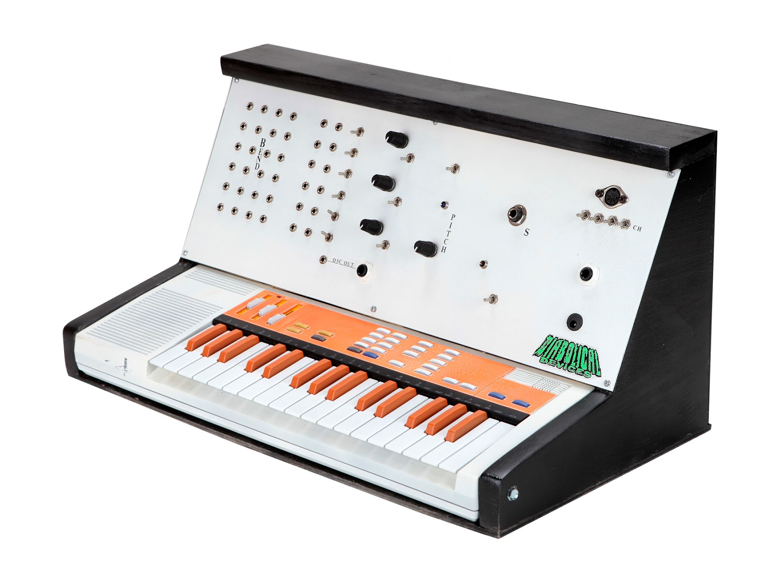 Matrixsynth Diabolical Devices Circuit Bent Patchable Casio Sk 1 Simple Ways To Bend A Toy Bending Pinterest
