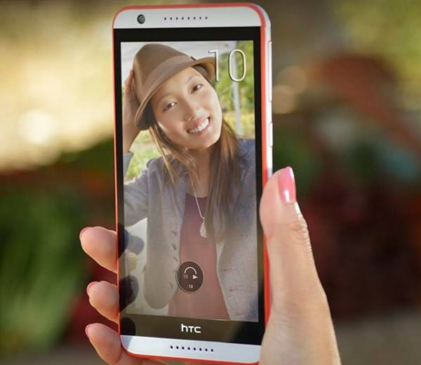 HTC Launched faster processor and 8MP camera HTC Desire 820s Selfi in India