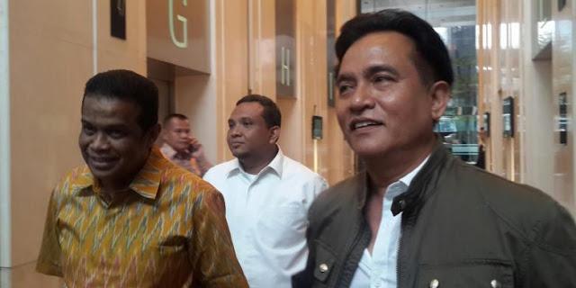Yusril Sebut Aburizal Bakrie Janji Bantu Lobi Pimpinan Partai Lain