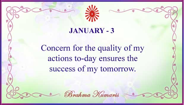Thought For The Day January 3