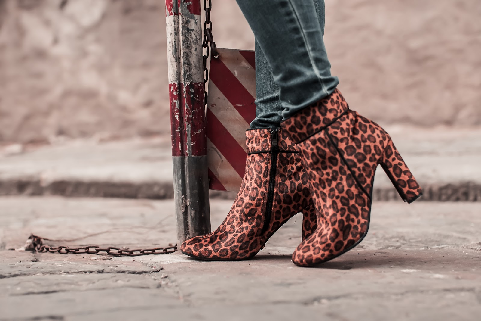 stivaletti leopardati