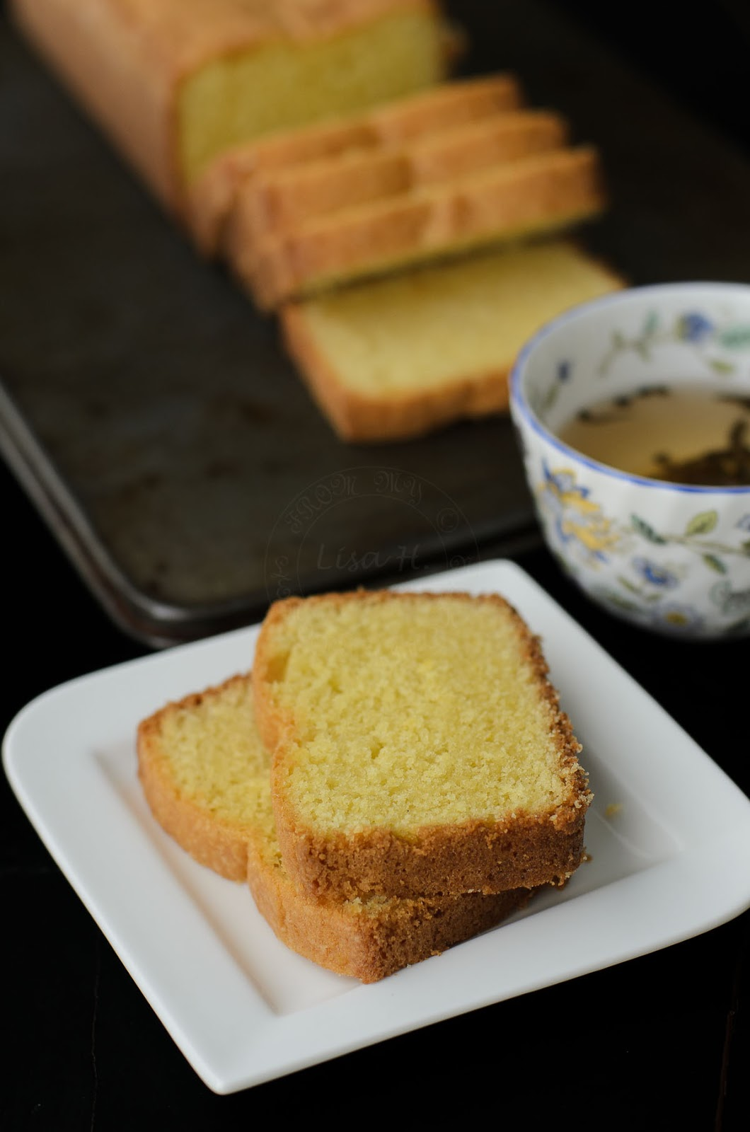 Classic madeira cake is perfect with tea