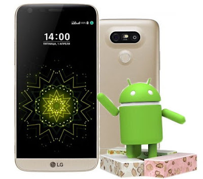 LG G5 Android Nougat 7.0 Preview Released