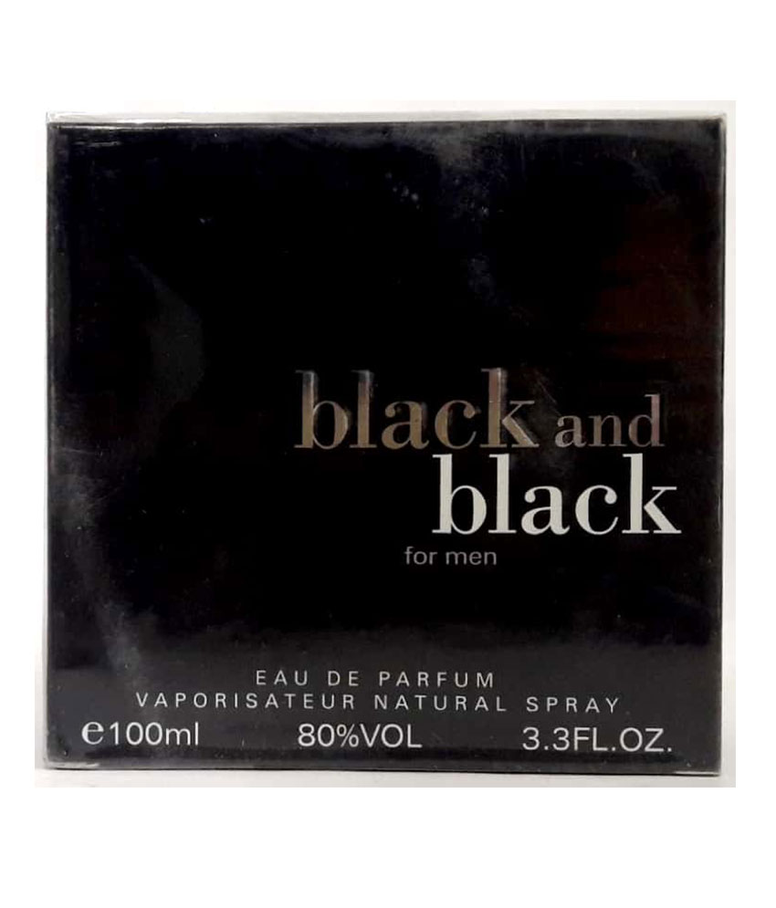 Black And Black For Men Sellion Perfume 100 ML