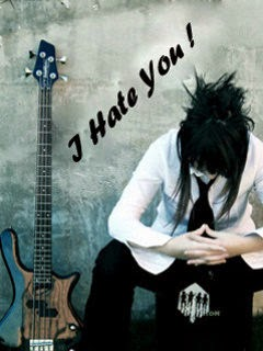 I Hate My Life Boy 240x320 Mobile Wallpaper Mobile Wallpapers