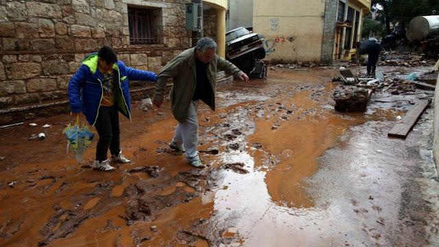 Εντοπίστηκε ένας ακόμη νεκρός στη Μάνδρα - 21 τα θύματα των πλημμυρών