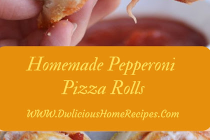 Homemade Pepperoni Pizza Rolls #christmas #lunch
