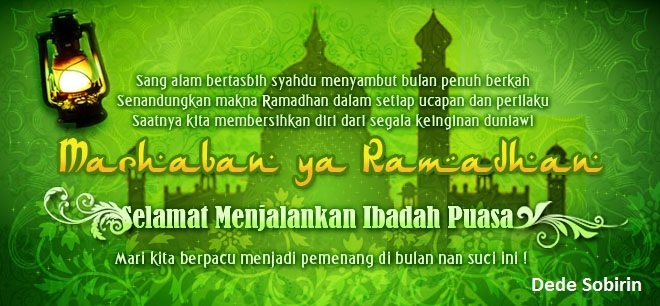Marhaban Ya Ramadhan 1437 H (6 Jn 2016 )