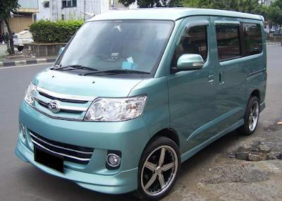 Daihatsu Luxio Modifikasi