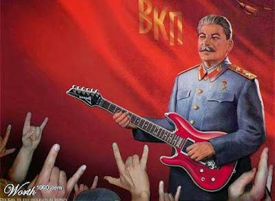 Stalinismus lustige Bilder Heavy Metal Diktator