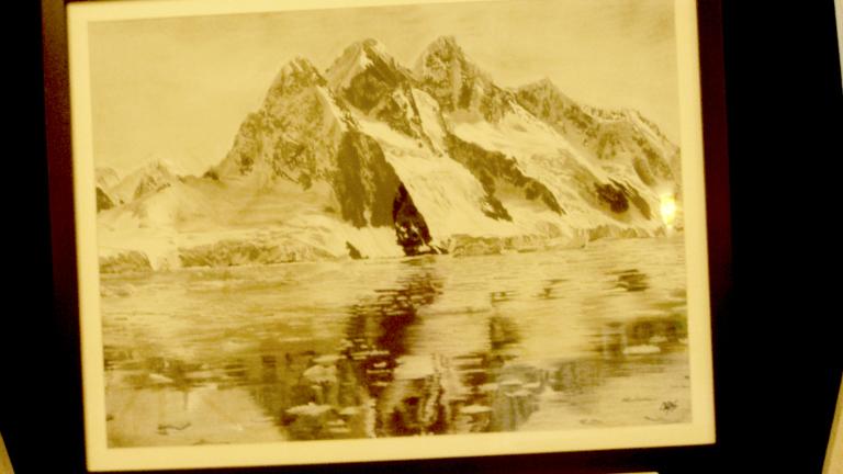 Dibujo de un paisaje