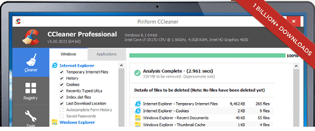 Ccleaner windows
