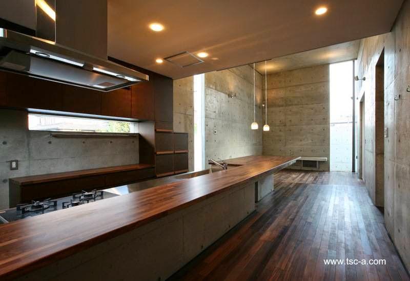 Cocina comedor y espacio de sala