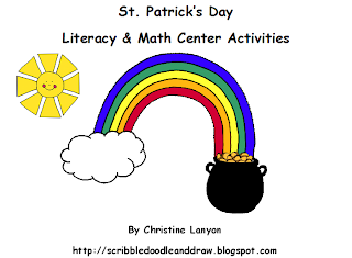 http://scribbledoodleanddraw.blogspot.ca/2012/02/st-pattys-day-unit.html