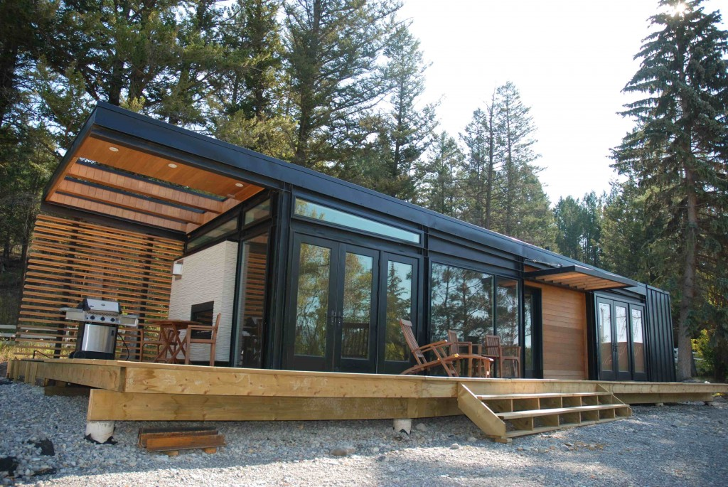 Prefab homes and modular homes in canada karoleena homes for Modern cabin plans for sale