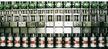 processo envasamento garrafas cerveja